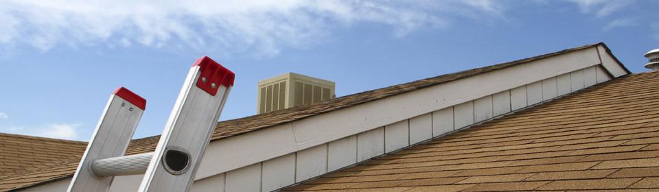 Gerepareerd dak